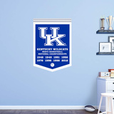 NCAA Kentucky Wildcats 2016 Basketball Championships Banner UPDATED RealBig Wall Decal