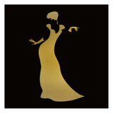 Fashion Silhouette 3 Prints by Kimberly Allen