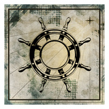 Nautical Gold 3 Posters by Kimberly Allen
