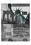 All About NY 2 Posters by Carole Stevens