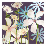 Blackberry Posies Prints by Lorraine Rossi