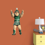 NCAA Michigan State Spartans 2015 Sparty Mascot Fathead Jr. Wallstickers
