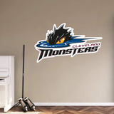 AHL Cleveland Monsters 2016 RealBig Logo Wall Decal