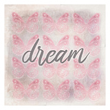 Dream Butterfly Print by Kimberly Allen