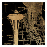 Needle Map Poster by Jace Grey