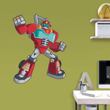 Transformers Rescue Bots Heatwave Fathead Jr. Wall Decal