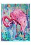 Flamingo In The Natural 1 Prints by Lena Navarro