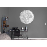 Star Wars Rogue One - Death Star Cross Section RealBig Wall Decal