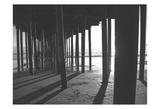 Under The Pier black & White Prints by Cynthia Alvarez