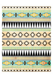 Neutral Aztec Mate Prints by Jace Grey