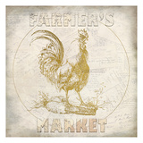 Golden Farmers Market Prints by Kimberly Allen