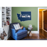NFL Seattle Seahawks 2016 State of Washington RealBig Logo Wall Decal