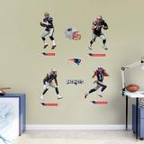 NFL New England Patriots 2016 Power Pack RealBig - Duvar Çıkartması