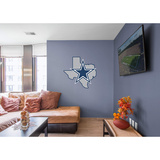 NFL Dallas Cowboys 2016 State of Texas RealBig Logo Wall Decal