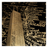 Chi Map Prints by Jace Grey