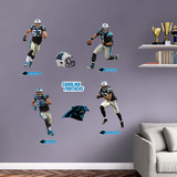 NFL Carolina Panthers 2016 Power Pack RealBig Wall Decal