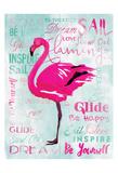 Sky Flamingo Posters by OnRei OnRei