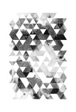 Black And White Triangles Prints by OnRei OnRei