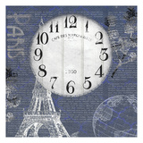 Paris Time Print by Kimberly Allen