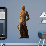 NCAA Michigan State Spartans 2015 Sparty Statue RealBig Wall Decal