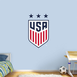 US Soccer 2016 Women's Crest RealBig Logo Wall Decal
