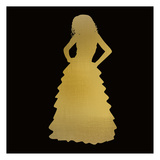 Fashion Silhouette 2 Posters by Kimberly Allen