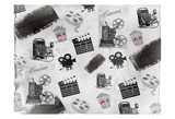 Movie Time Prints by Kimberly Allen
