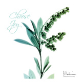 Choose Joy Lily of The Valley H12 Poster by Albert Koetsier