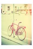 Red Bike Prints by James Rowland