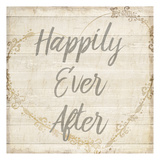 Happily Ever After Grey Art by Kimberly Allen