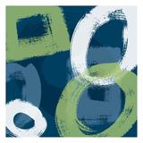 Grunge Circles 1 Prints by Carole Stevens