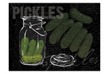 Pickles In A Jar Prints by Jace Grey