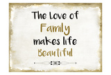 The Love of Family Posters by Kimberly Allen