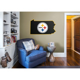 NFL Pittsburgh Steelers 2016 State of Pennsylvania RealBig Logo Veggoverføringsbilde