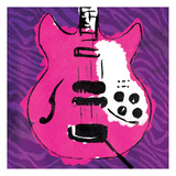 Girly Guitar Zoom Mate Prints by Enrique Rodriquez Jr