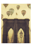 Bridge Balloons Vert Affiches par Ashley Davis