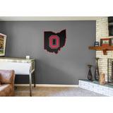 NCAA Ohio State Buckeyes 2016 State of Ohio RealBig Logo Wallstickers