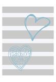 Loving Hearts Prints by Sheldon Lewis