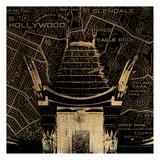 LA Map Prints by Jace Grey