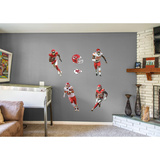 NFL Kansas City Chiefs 2016 Power Pack RealBig Wall Decal