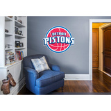 NBA Detroit Pistons Logo Wall Decal