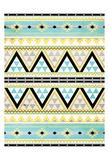 Neutral Aztec Print by Jace Grey