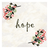 Floral Hope Posters by Kimberly Allen