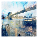 My Magical New York 2 Prints by Sheldon Lewis