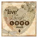 Live Well Prints by Kimberly Allen