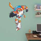 Transformers Rescue Bots Blades Fathead Jr. Wall Decal