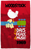 Woodstock - Classic Beach Towel Beach Towel