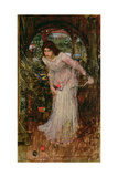The Lady of Shalott, C.1894 Giclee Print by John William Waterhouse