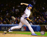 Mike Montgomery Game 4 of the 2016 World Series Photo