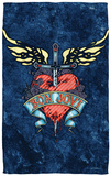 Bon Jovi - Weathered Denim Beach Towel Beach Towel